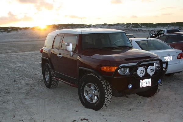 FJ Sunset @ the Beach