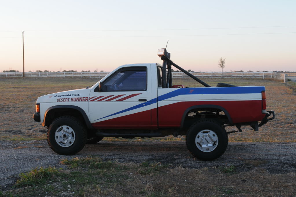 JeffBs 1988 Nissan Desert Runner 4x4 Hardbody Restoration Project - photo b