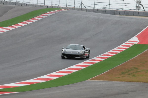 Ferrari Track Day at the Circuit Of The Americas Track in Austin, Texas 12/