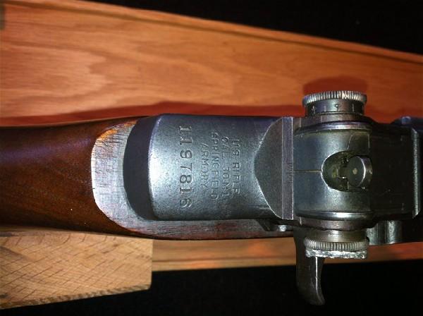 Springfield M1 Garand .30-06 caloiber - 1943 production date