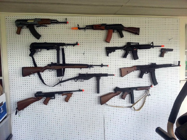 My airsoft collection